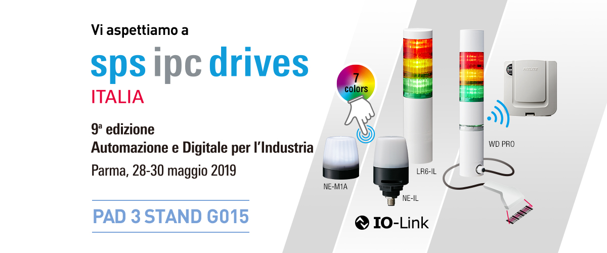 SPS IPC Drives Italia 2019