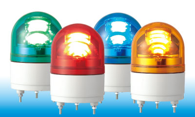 100mm LED & Brushless Motor Revolving Warning Light